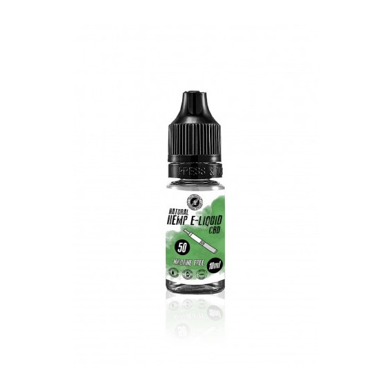 E-Liquid CBD 10ML 50mg - Naturalny