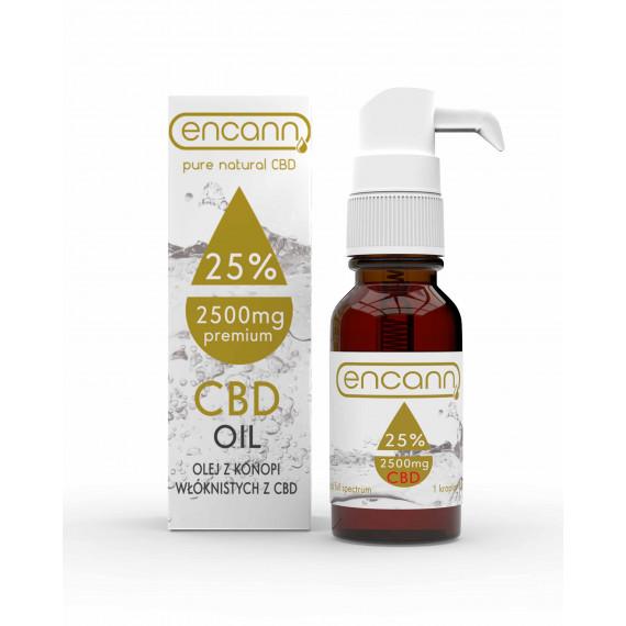 Premium olejek konopny 25% ENCANN CBD 10ml
