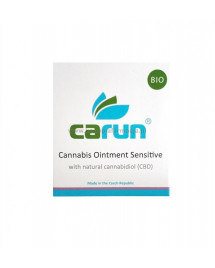 Maść konopna dla skóry wrażliwej BIO 100ml - Carun