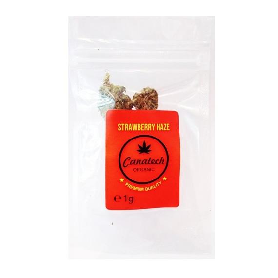 Susz konopny Strawberry Haze 13 % CBD 1 g