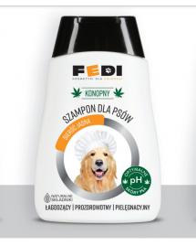Konopny szampon dla psów o...