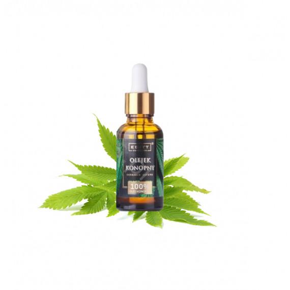 Olejek konopny  - do pielęgnacji ciała i włosów 30 ML