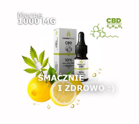 olej CBD Cytrusowy