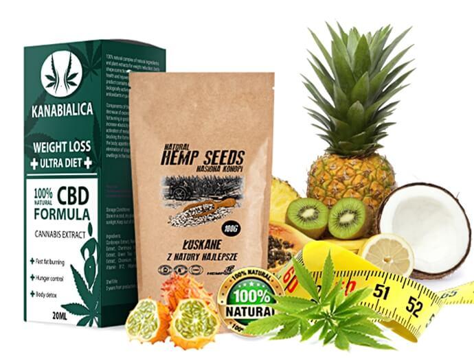 Natural hemp seeds - Kanabialica