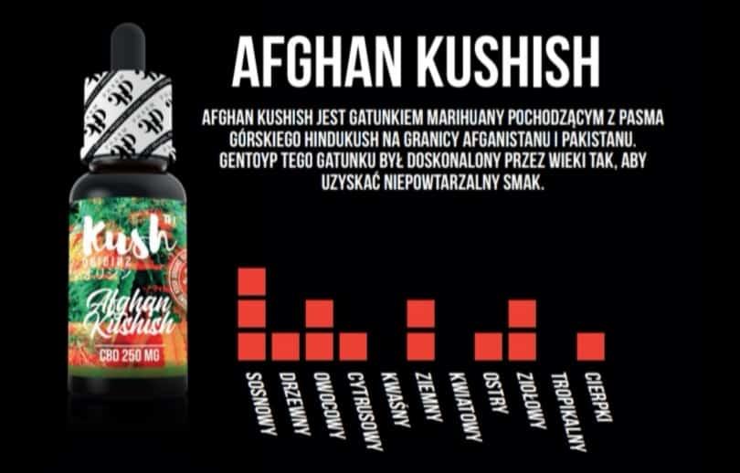 AFGHAN KUSHISH 250 MG CBD 10 ML