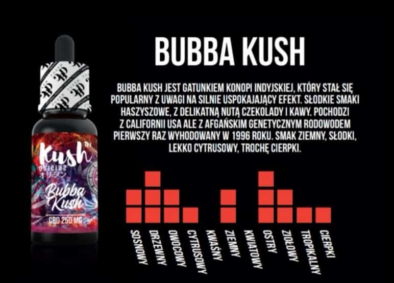 BUBBA KUSH 250 MG CBD 10 ML