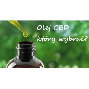 Olej CBD – który wybrać?